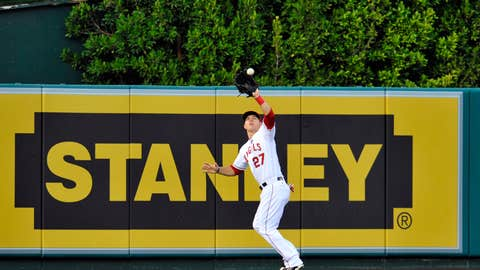 AL OF: Mike Trout, Angels