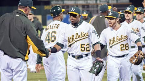 Oakland Athletics: B+