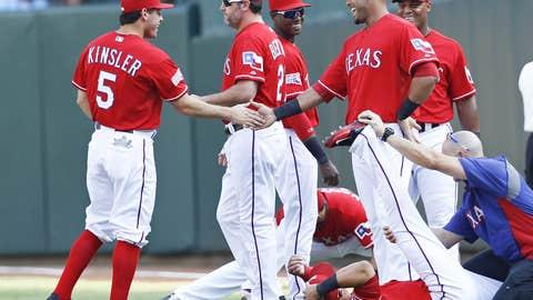 Texas Rangers: B-