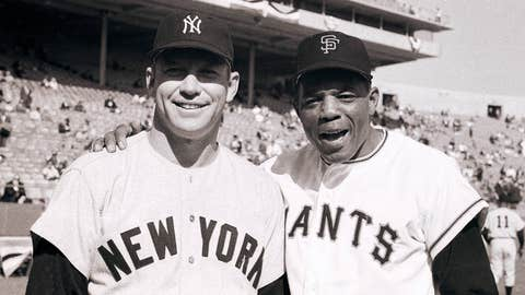Mickey Mantle & Willie Mays