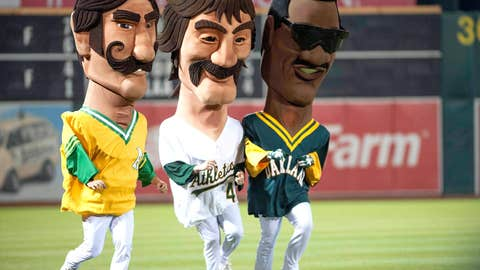 Hall of Famer Big Heads, Oakland Athletics