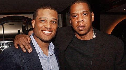 Robinson Cano and Jay-Z