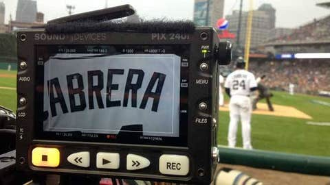 Image: Detroit Tigers third baseman Miguel Cabrera (© MLB Productions)