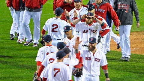 Game 1: Red Sox 8, Cards 1