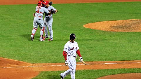 Game 2: Cards 4, Red Sox 2