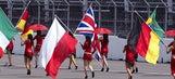 Formula One grid girls 2010