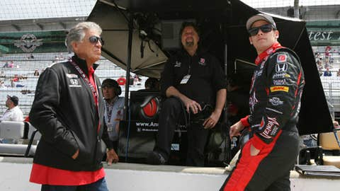 The 'that's my kid' award: Graham Rahal and Marco Andretti