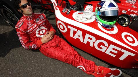 Most chilled out driver: Dario Franchitti