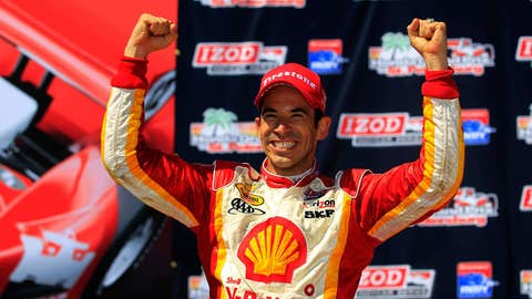 Helio Castroneves, two wins