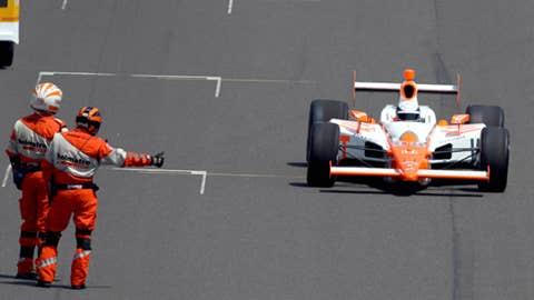 Best prerace drive: Bryan Herta