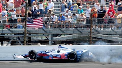 'Like father, like son' award: Marco Andretti