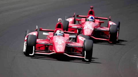 Best racing: Franchitti and Dixon