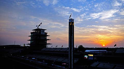 Sunrise over Indy