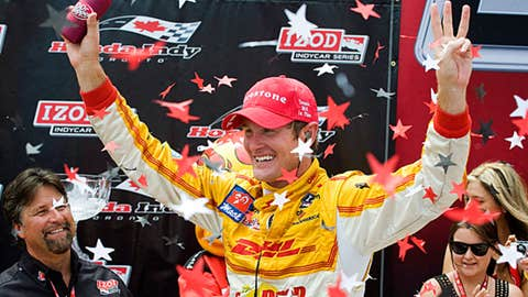 Ryan Hunter-Reay, four wins
