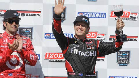 Ryan Briscoe, one win