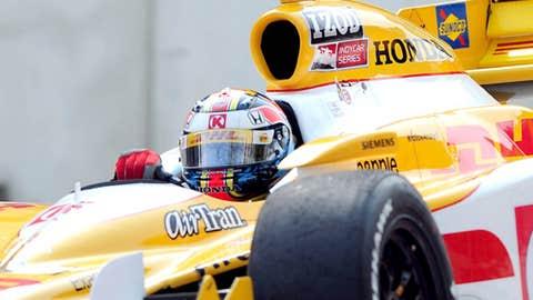Indy Car Series driver Ryan Hunter-Reay