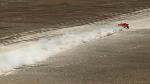 Cloud of dust