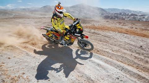 Dirt bikin' in the desert
