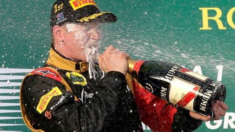 Kimi Raikkonen, one win