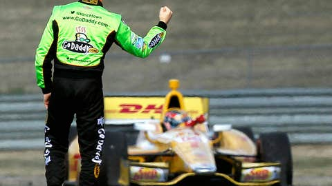 Has Hamlin-Logano fever spread to IndyCar?