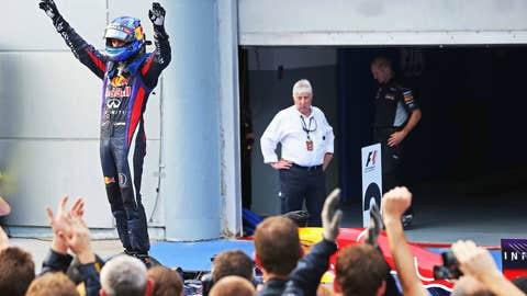Sebastian Vettel, 11 wins
