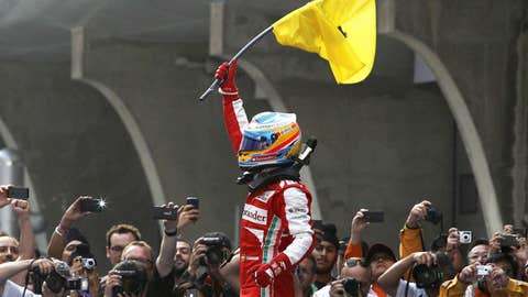 Fernando Alonso, two wins