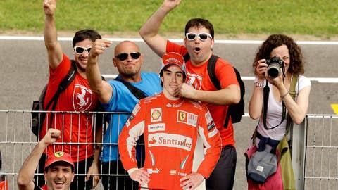Fernando Alonso fans