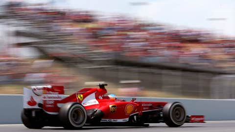 Fifth for Ferrari
