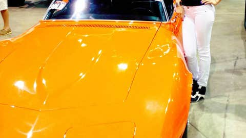 April Rose at Barrett-Jackson: Through the years