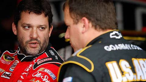 Blue chip: Tony Stewart
