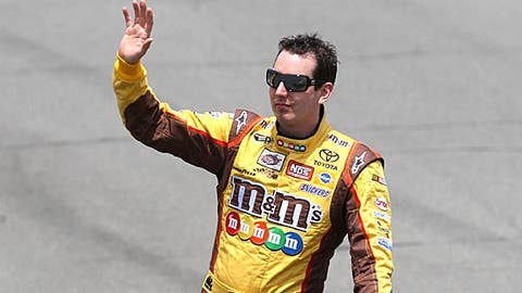 Blue chips: Kyle Busch
