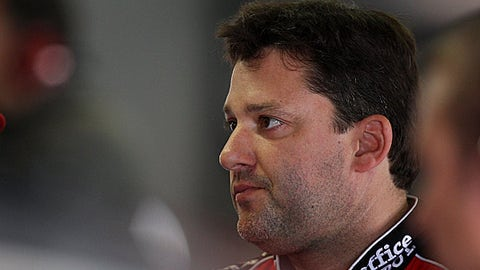 Blue chips: Tony Stewart