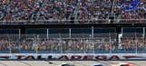 NASCAR action at Talladega