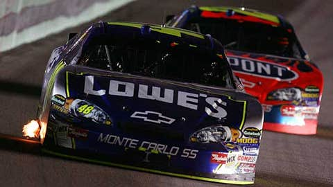Jimmie Johnson -- NASCAR Cup Champion (2006-2008)