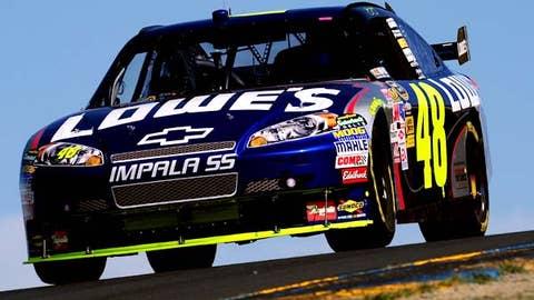 Jimmie Johnson, Hendrick Motorsports -- A
