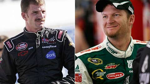 Kerry Earnhardt and Dale Earnhardt Jr.