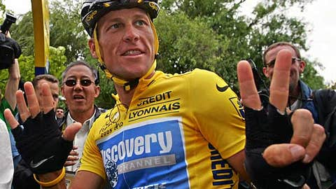 Lance Armstrong -- Tour de France Champion (1999-2005)