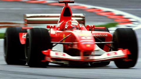 Michael Schumacher -- Formula One World Champion (2000-2004)