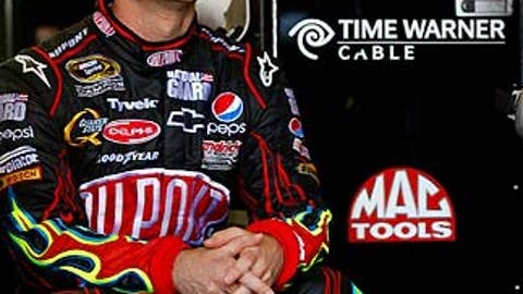 Not -- Jeff Gordon