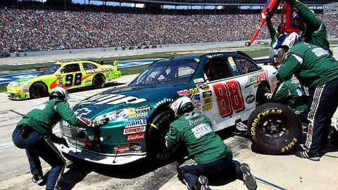 Not -- No. 88 pit crew