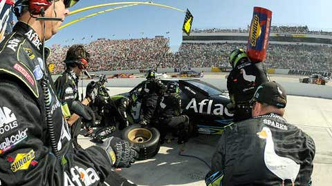 Not -- No. 99 pit crew