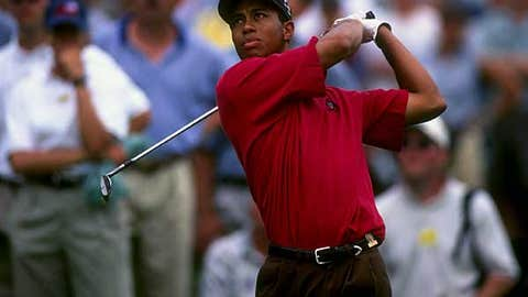 Tiger Woods -- U.S. Amateur Champion (1994-1996)
