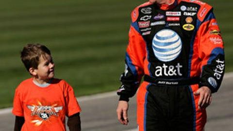 Jeff Burton and Harrison