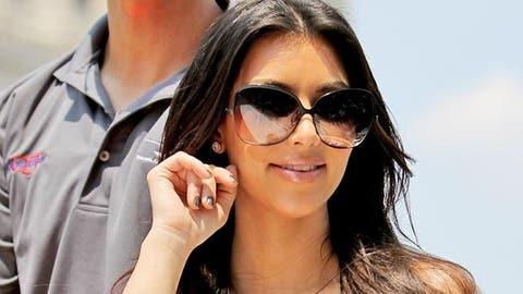 Kim Kardashian at Indy 500 (Nick Laham/Getty Images)