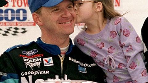 Jeff Burton and Paige