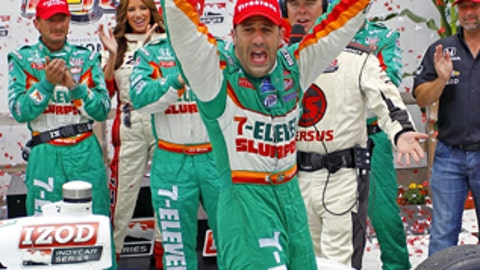 Tony Kanaan, one win