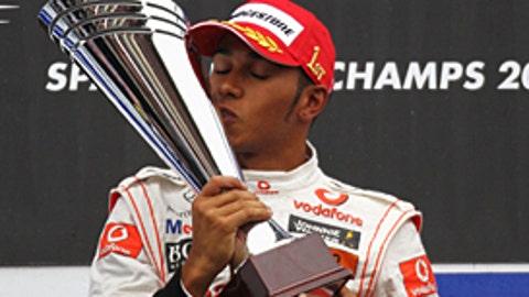 Lewis Hamilton, three wins