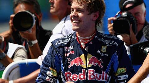 Sebastian Vettel, five wins