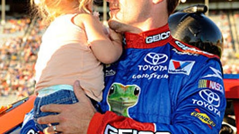 Casey Mears and Samantha
