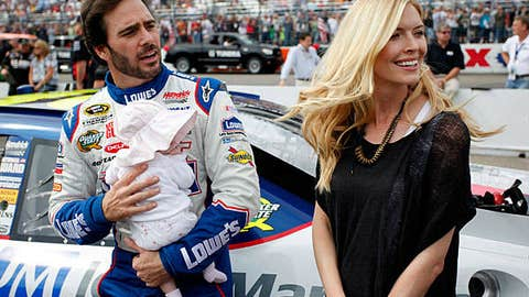 Jimmie Johnson and Genevieve Marie